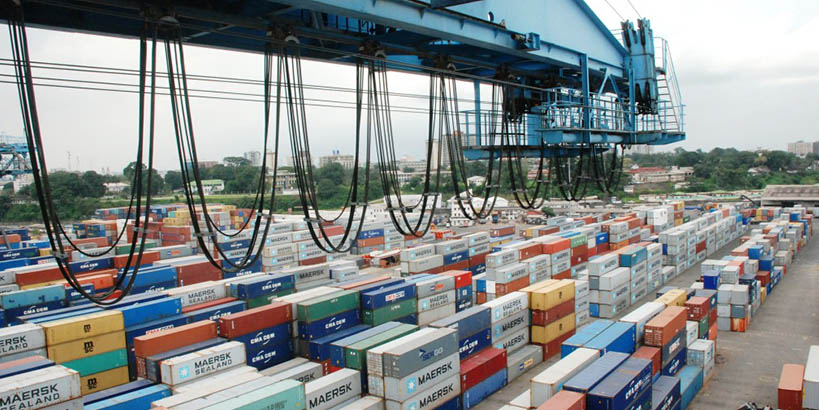 Container terminal port of Douala Cameroon   Bolloré Ports
