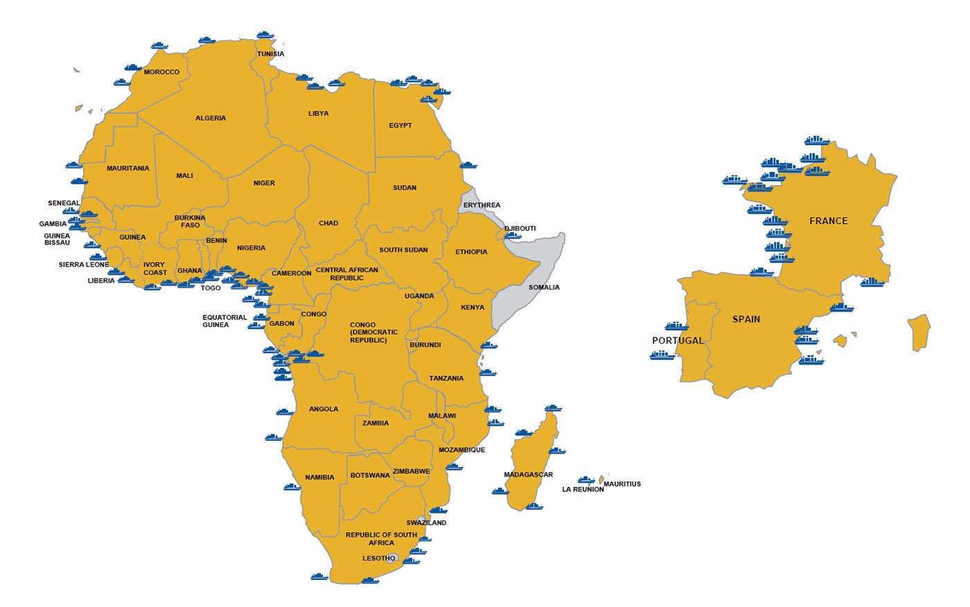 Afritramp: shipping services and shipping agency Africa